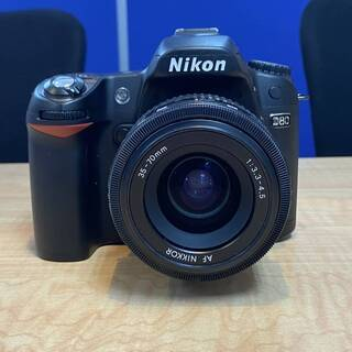 【ネット決済・配送可】Nikon ニコン D80 本体とレンズ ...