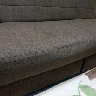 ソファーベッド 180cm  収納引出付き