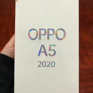 【ネット決済】スマホ OPPO A5 2020 新品未開封