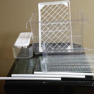 内部清掃除菌・外部清掃済み ユーイング MR-F110MB(K) MORITA  2011年製 京都 冷凍冷蔵庫 - 家電