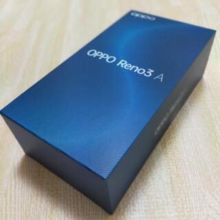 【未開封】SIMフリースマホ OPPO Reno3 A(Whit...