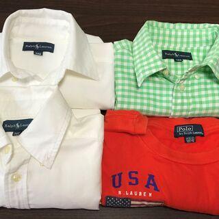 ポロラルフローレンの子供用シャツ 4枚