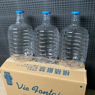 ウォーターサーバー空の容器 8L メダカ 等に 3個で100円