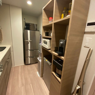 キッチンボード収納 w835h1860