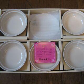 新品の豪華な茶碗蒸しの器5セット