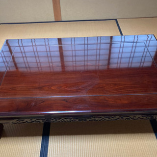 【ネット決済】1500×900 天然木 紫檀
