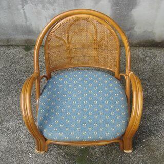 籐の椅子(小)