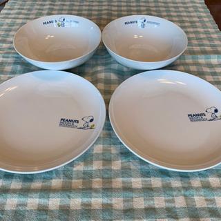 【最終値下げ】SNOOPY スープ皿16cm &パン皿19…