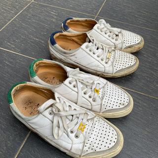 約25センチ 色違い靴2足セット