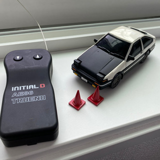 イニシャルD ラジコン AE86リミデット