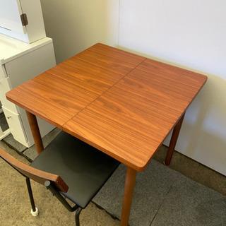 HK829⭐️説明文必読‼️拡張式ダイニングテーブルセット