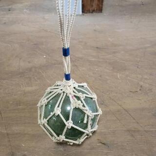 激安王価格‼️昔の漁船の硝子玉骨董品