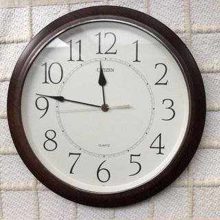 【CITIZEN】掛け時計