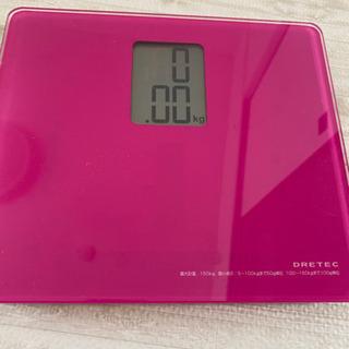 ♦︎デジタル体重計 ピンク♦︎