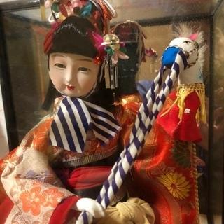 雛人形 お雛様 ひな人形 ☆舞踏人形・春駒 ひな祭り 日本人形 ...