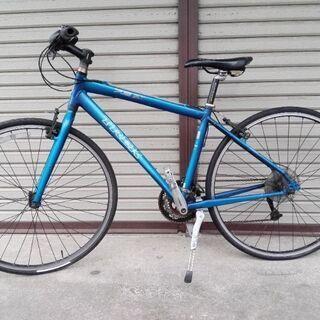 クロスバイク TREK 7.3FX 24段変速 445 ブルー ...
