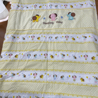 赤ちゃん用、布団セット(掛け、敷)+掛け布団1枚