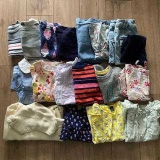 子供服セット 80-90くらい ほぼbabygap