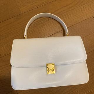 ハンドバッグ 白 ホワイト かばん カバン