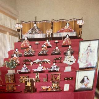 雛人形 昭和40年代 7段飾り