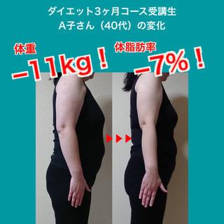 【オンラインダイエット】ママ向け!ダイエット3ヶ月コース開講!