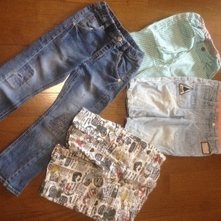 子供服 110cm ハーフパンツ ズボン 【難あり】