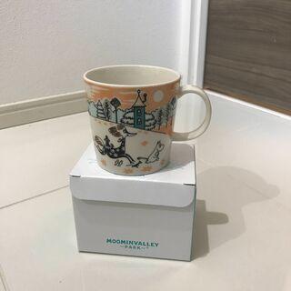 【新品】ムーミンバレーパーク 1周年限定アラビアマグカップ
