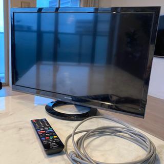 シャープ 液晶テレビ 24型 2017年製