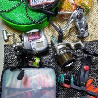 釣具いろいろ!!値下げしました。