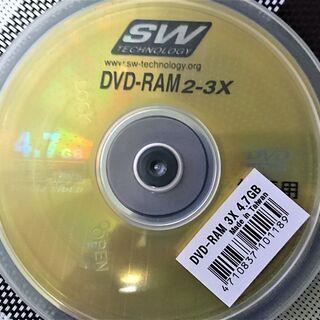 【未開封】DVD-RAM 10枚組
