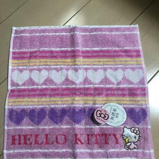 【新品】キティちゃん ハンドタオル  ♡柄