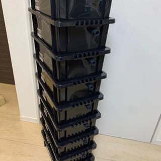 【めだか水槽9個】NV13 BOX オーバーフロー対策済み