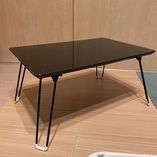 折り畳み 鏡面テーブル