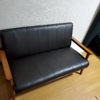 【ネット決済】革ソファー