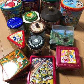 Disney,USJ 缶ケースバラエティ