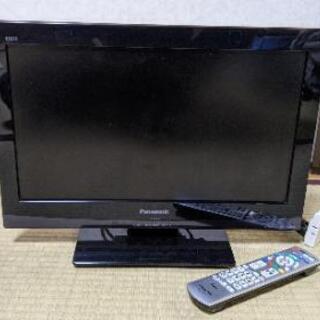パナソニック テレビ 19型 2011年制 リモコン付き