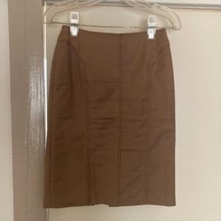 K. 3ピーススーツ スカート モカ