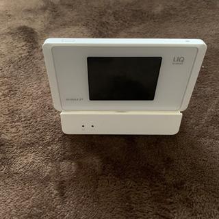 【ネット決済】WiMAX wx-05 クレイドル付き