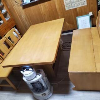 0円 ダイニングテーブルセット