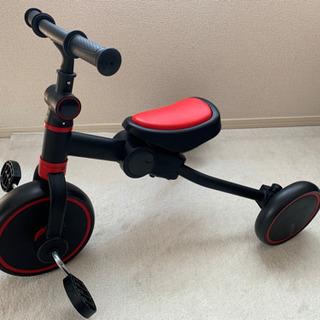 【ほぼ新品】子ども用の三輪車(ストライダー変形可能)