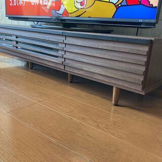 美品 テレビ台(幅1499mm×奥行417mm×高さ328…