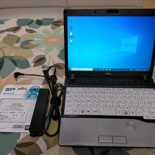 動作品 美品 ノートPC 12.1インチ SSD 120G…