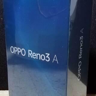 新品未開封 ◆ OPPO Reno3 A ブラック UQ mob...