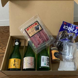 日本酒とつまみセット