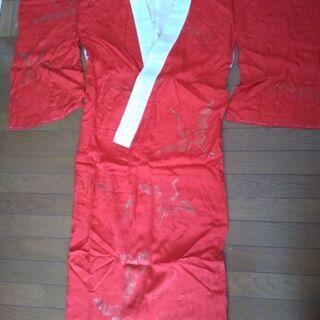 【新品】赤の長襦袢 着物