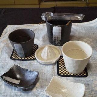 陶器 晩酌セット(未使用品)
