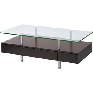 ニトリ ガラス天板センターテーブル