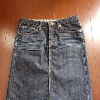 〈美品〉LOWRYS  FARMのジーンズスカート sizeM