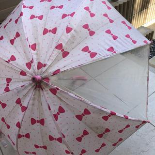 45cm リボン柄 傘