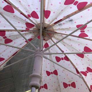 45cm リボン柄 傘 - 福岡市